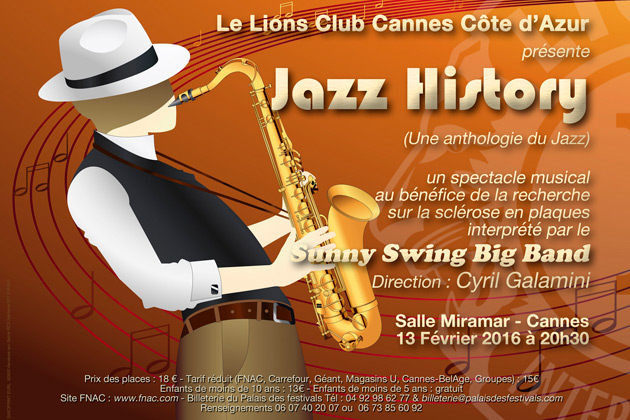 Cannes Destination Jazz-history