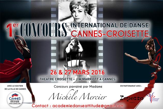 Cannes Destination concours-de-danse-affiche