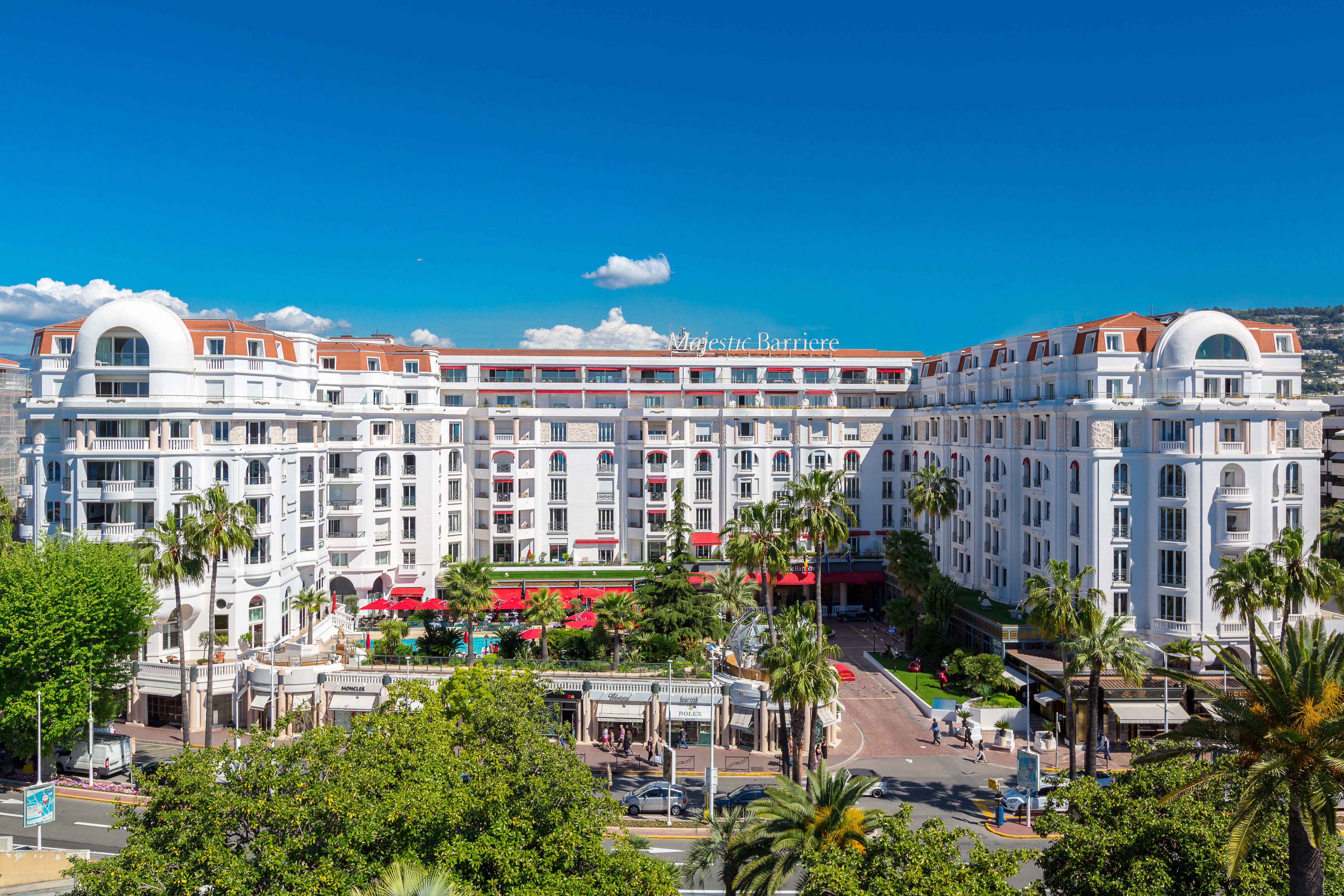 h tel barri re le majestic cannes in cannes french