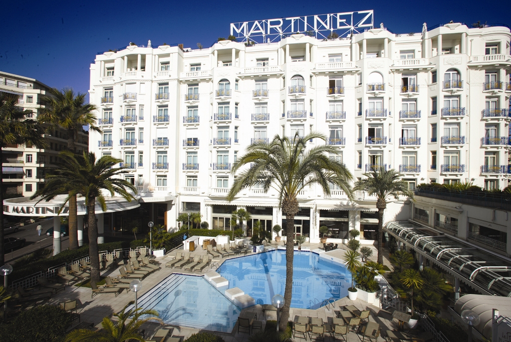 Grand hyatt cannes h tel martinez h tel cannes for Prix des hotels