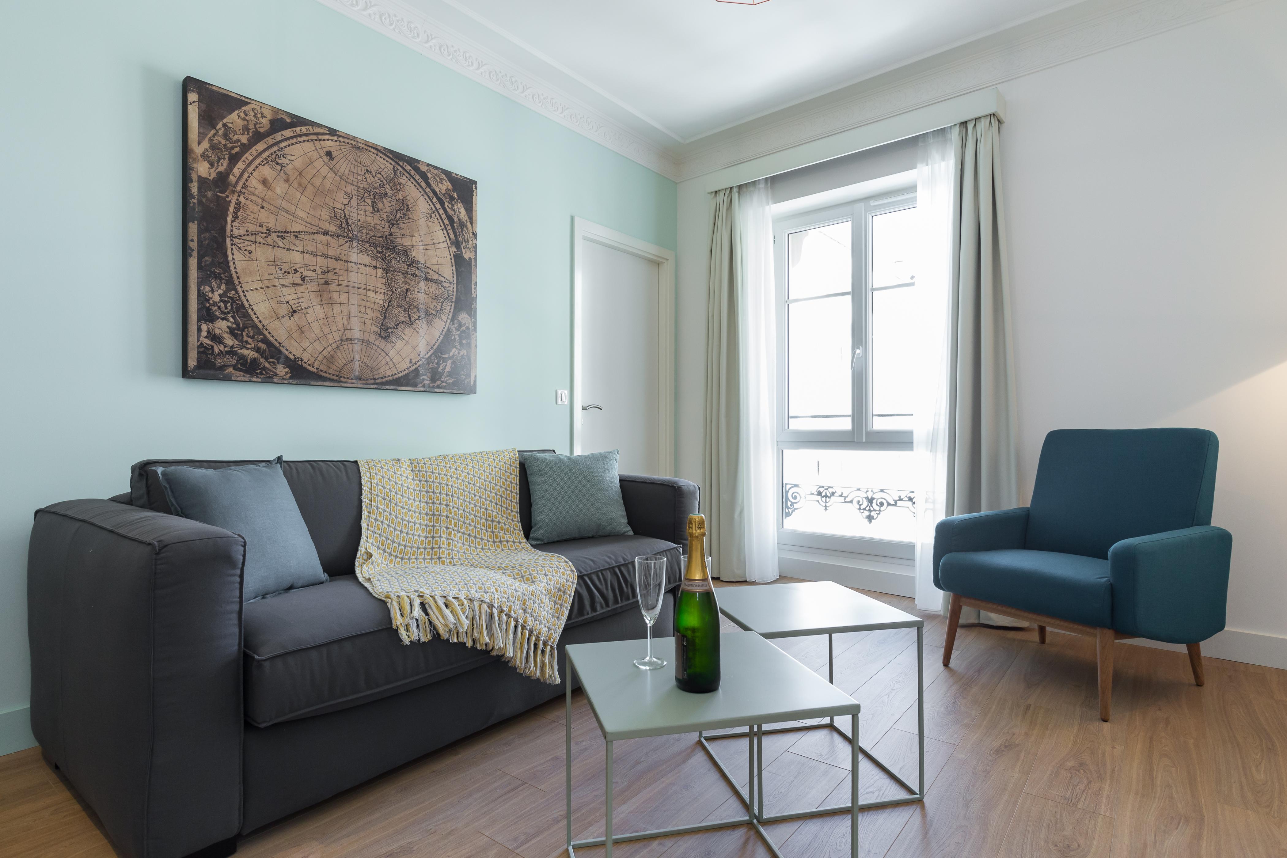Appartement 3 pièces 55 m² - 2 bedroom apartment 55 sqm