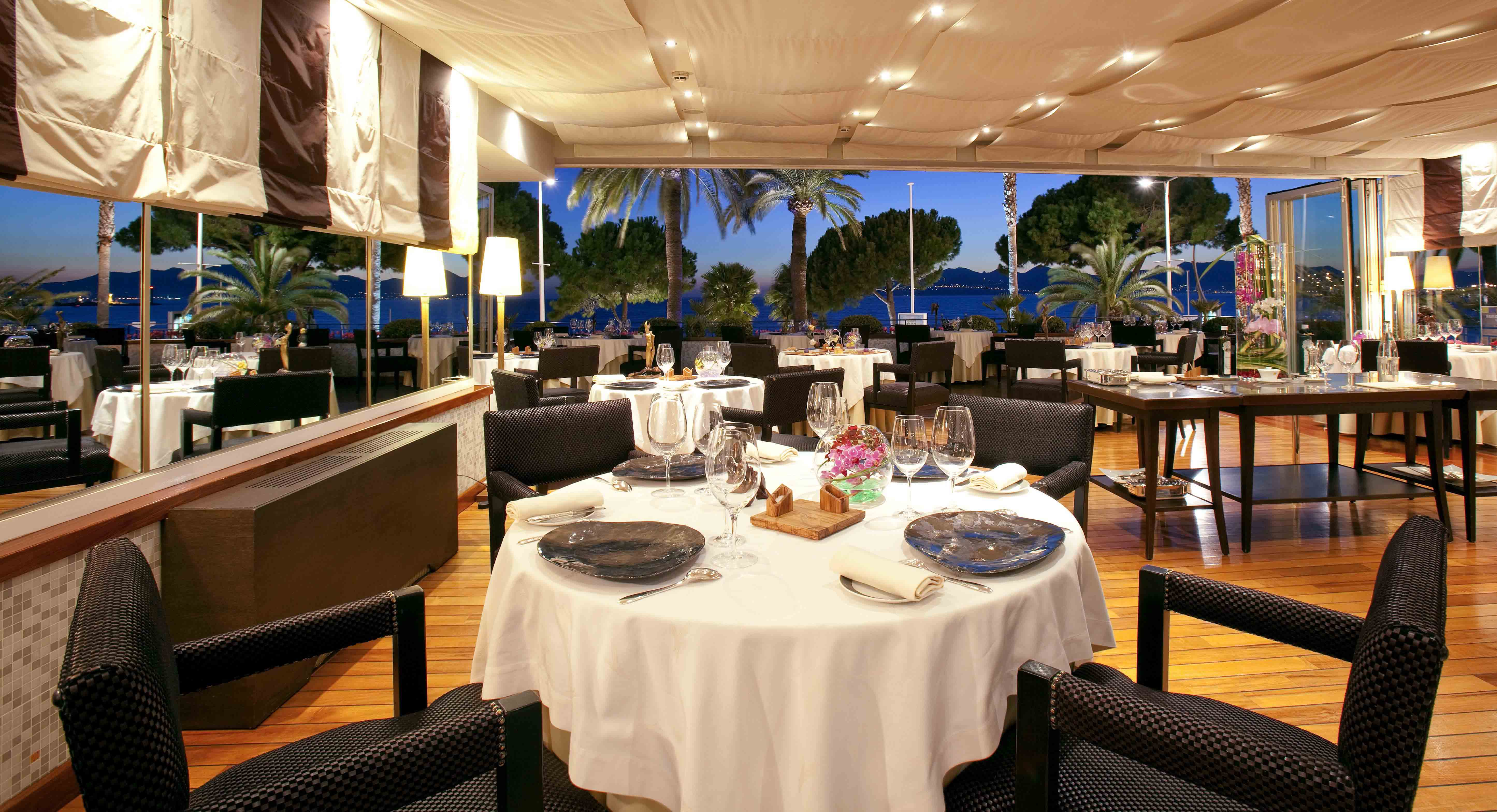 Grand hyatt cannes h tel martinez h tel cannes for Meilleur resto cannes