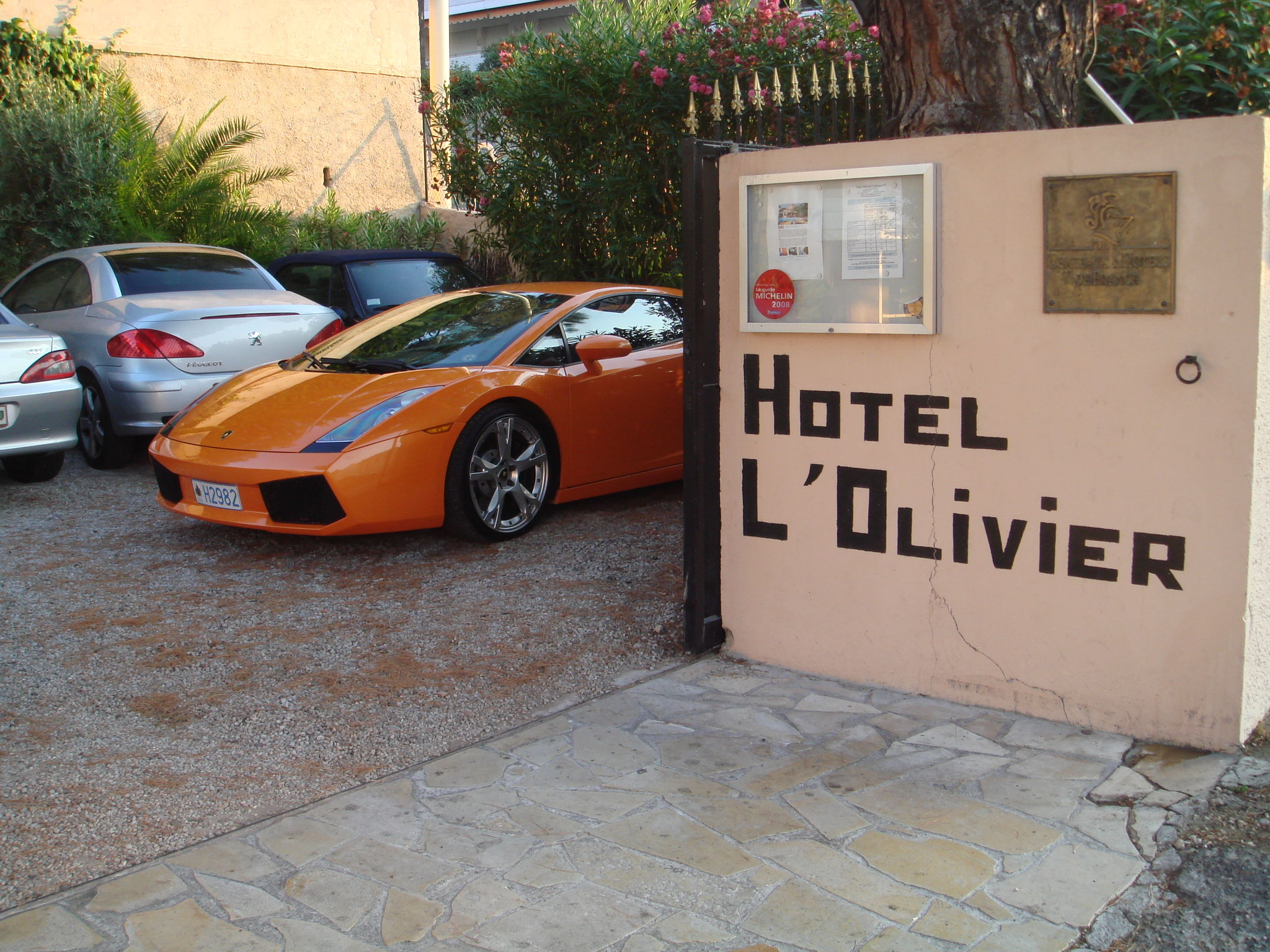 parking Hotel Olivier Cannes