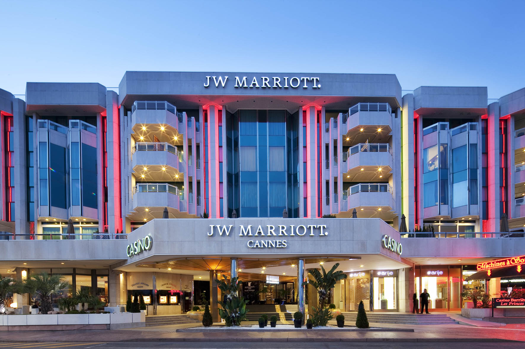 Jw marriott cannes s minaires salons incentives for Hotel luxe france