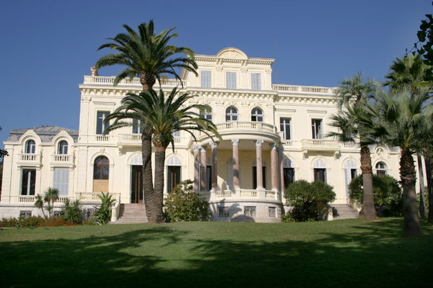 Villa rothschild s minaires salons incentives for Cannes piscine municipale
